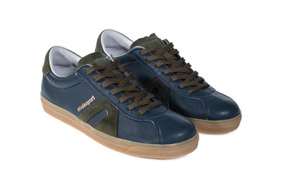 Star Leather - Blue Steel / Olive