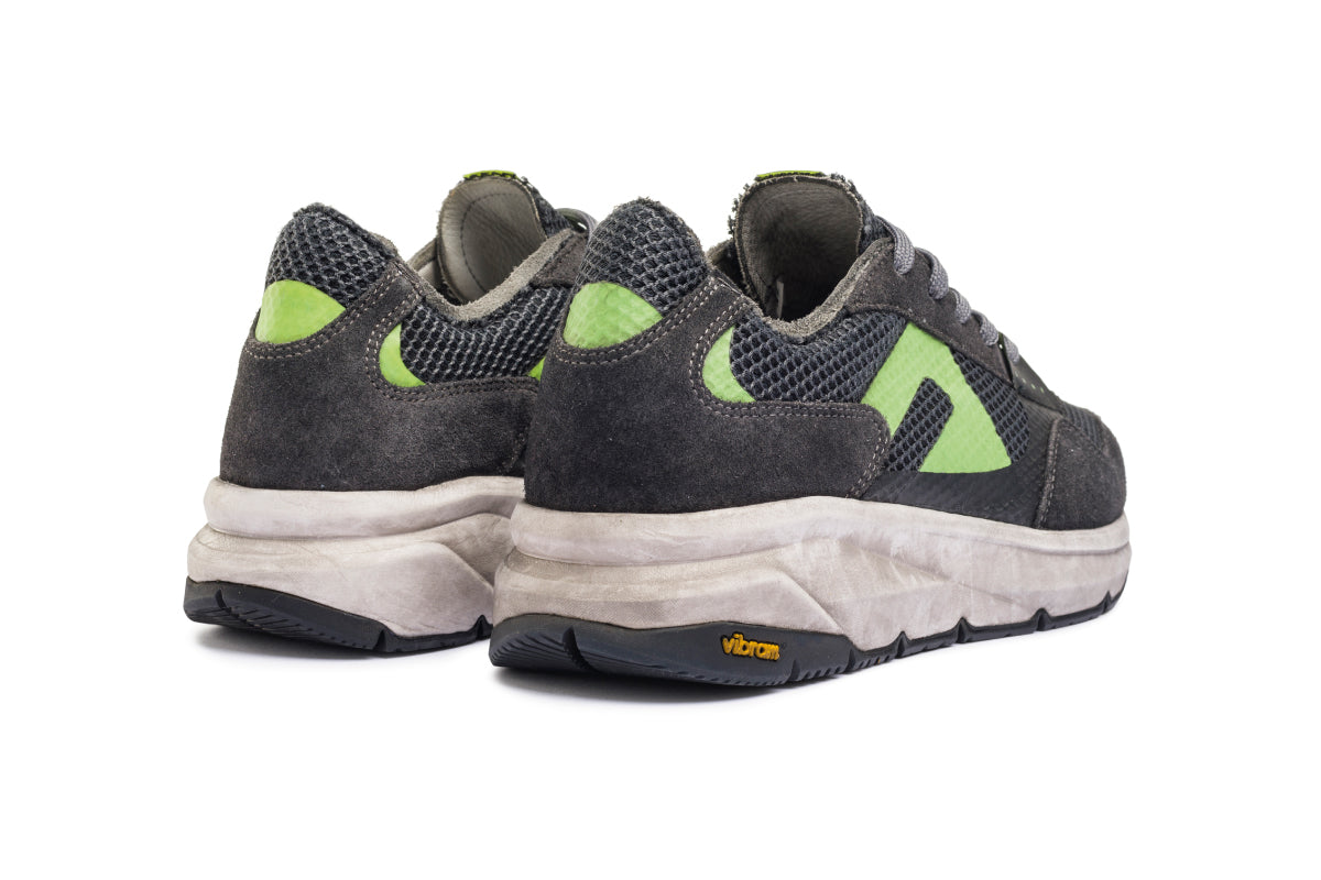 F300 Dirty Vibram - Black / Fluo