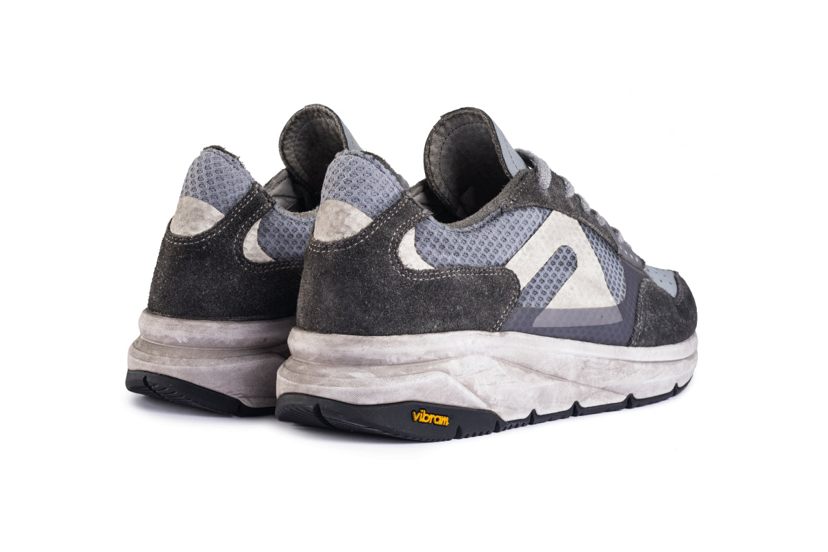 F300 Dirty Vibram - Concrete Grey