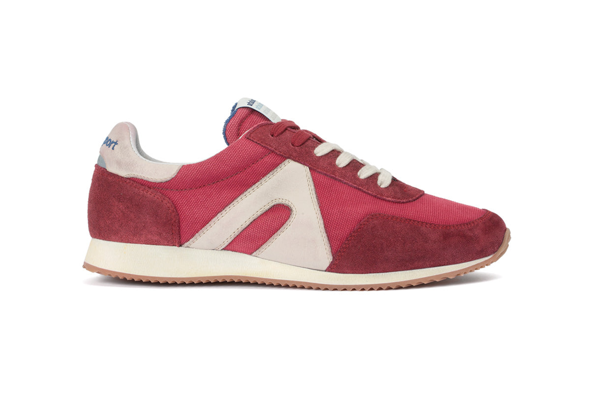Super Canvas - Cherry Red / Cream