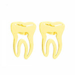 Medical Tooth Stud Earrings