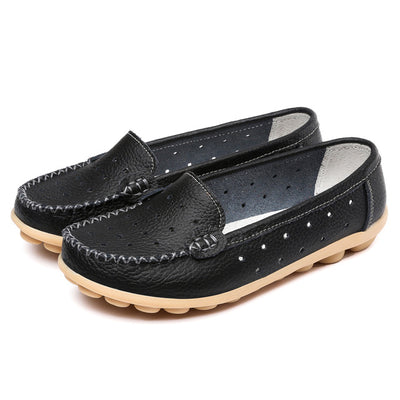 New 2017 Leather Shoes Slip On Shoes