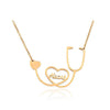 Stethoscope Heart Chain Necklaces