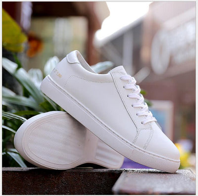 Fashion Flat Genuine Leather Shoes for Women