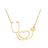 Medical Stethoscope Chain Necklace