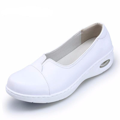 Comfortable Air Cushion Leather Antiskid Shoes for Women