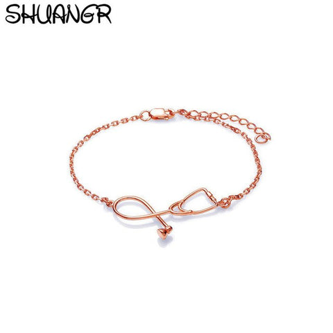 2018 New Stethoscope Bracelet Fashion Medical Jewelry Gift for Nurse Doctor medical Student