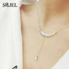 All New Zircon Angel Wings Necklaces for Women Collar Nurses Doctors Medicinal Graduates Jewel