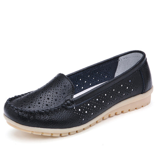 Hollow breathable summer new nurses women's shoes