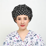 Floral Poppy Medical Cap