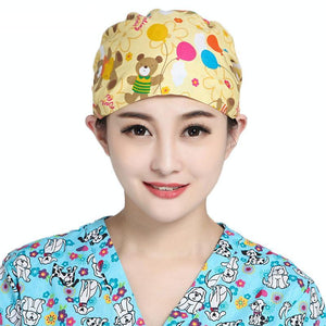 Teddy Bear Medical Cap