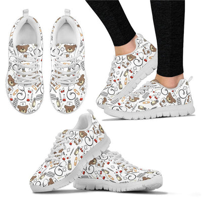 Beary Nice Nurse Sneakers
