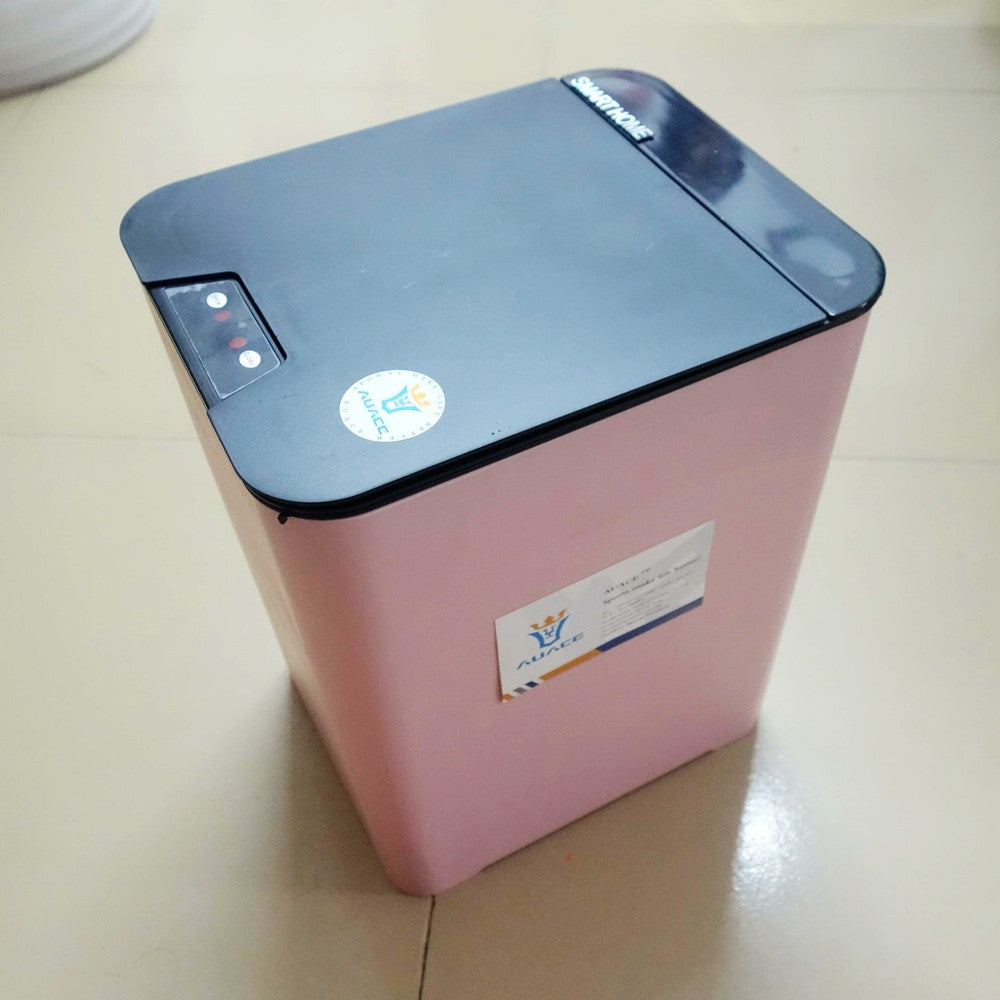 AUACE Automatic Trash Can Sensor Garbage Bin for Bathroom Kitchen Office