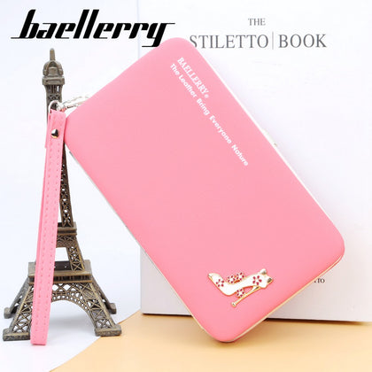 Baellerry Fashion Multifunction Women Clutch Wallet