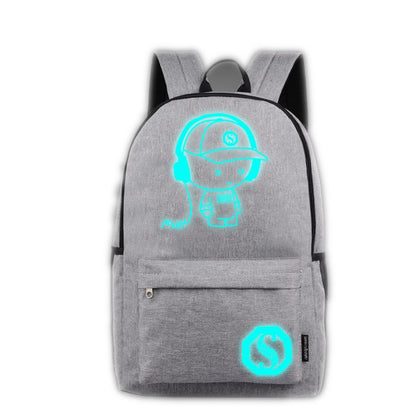 Anime Luminous  Laptop Computer Backpack