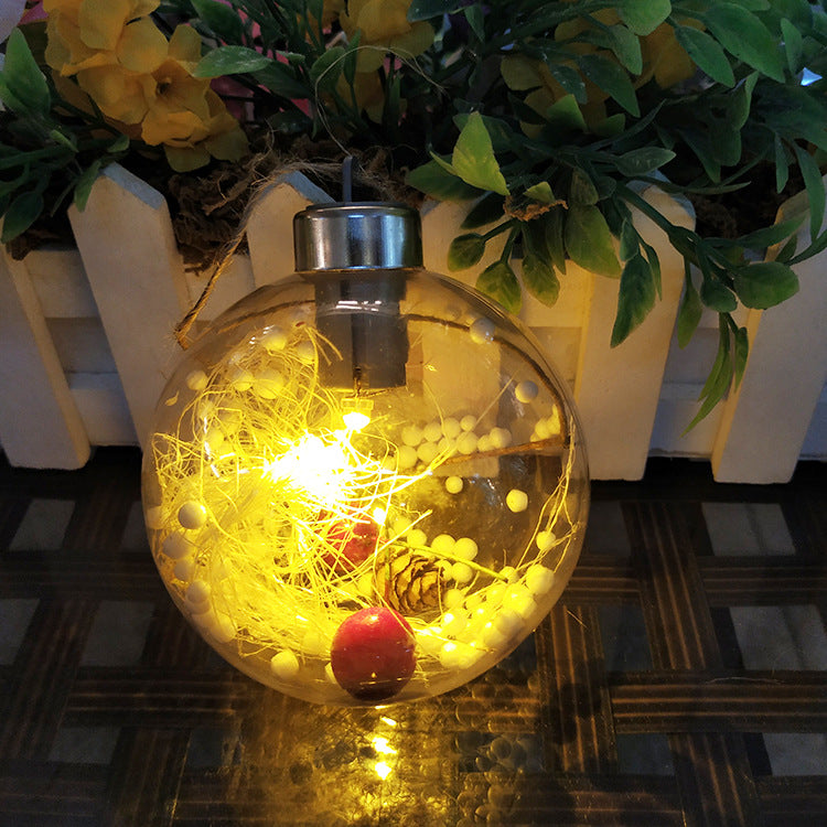 Christmas Tree Transparent Decorative Ball