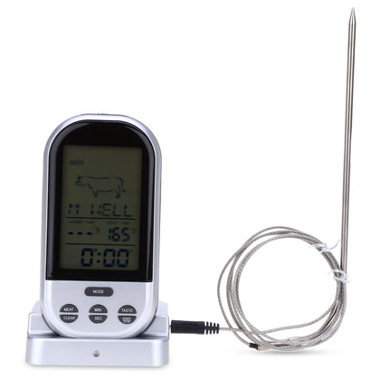 TS-BN52 Digital Wireless Remote Kitchen Oven Food Cooking Grill Smoker Meat Thermometer