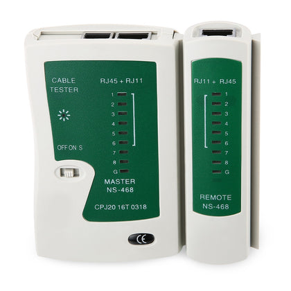 Network Cable Tester RJ45 RJ11 RJ12 CAT5 UTP LAN Networking Tool