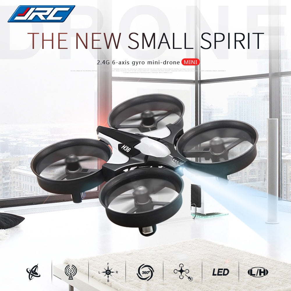JJRC H36 Mini 2.4GHz 4CH 6 Axis Gyro RC Quadcopter with Headless Mode / Speed Switch
