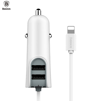 Baseus 2.1A  Dual USB 5V 5.5A Quick Charging Car Charger