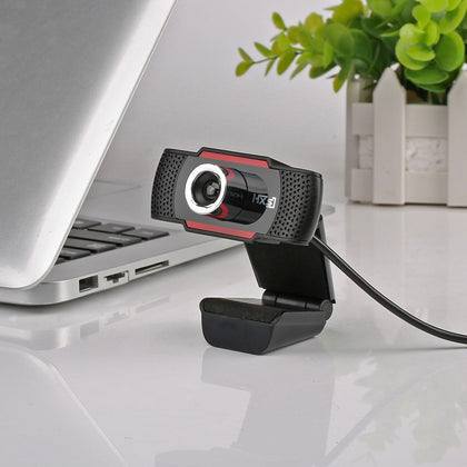 HXSJ S30 1 Megapixel HD Camera Webcam with Microphone 720P
