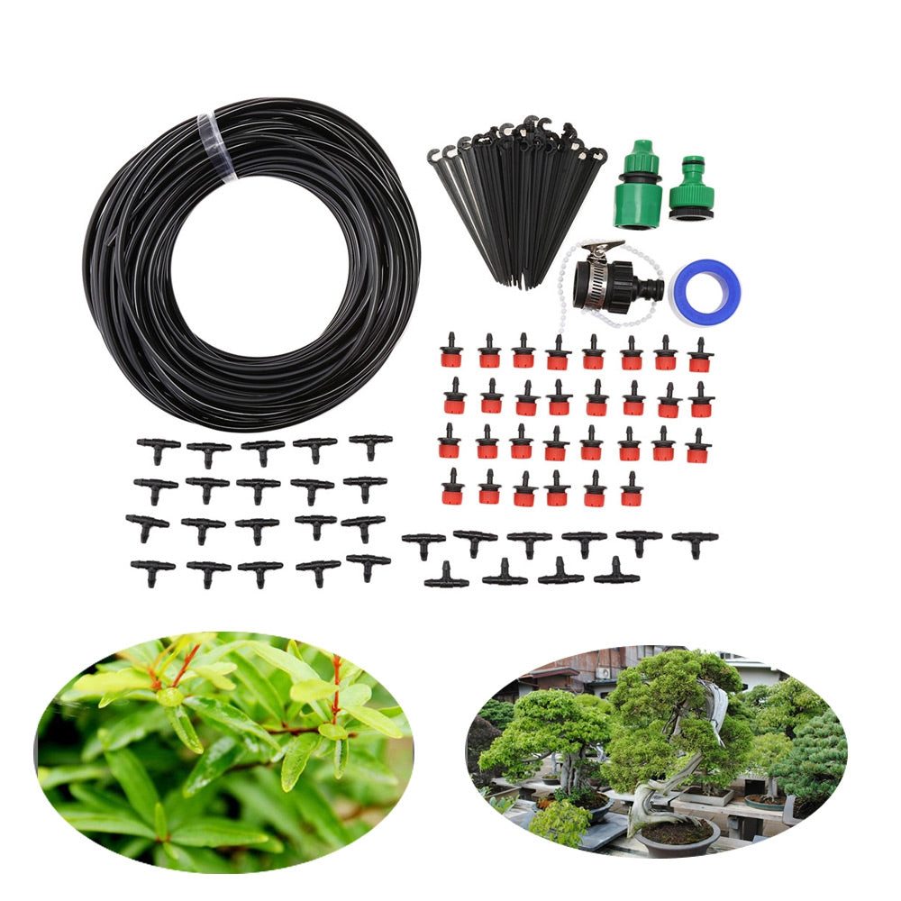DIY 25M Micro Drip Irrigation System Agriculture Sprinkler Garden Plant Flower Automatic Watering Tool Kit