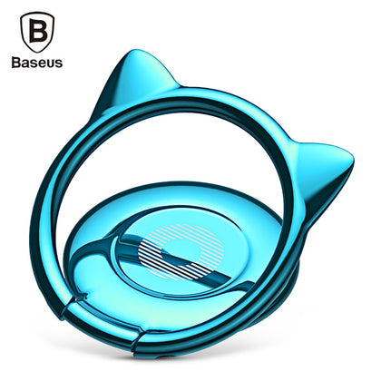 Baseus Cat Ear Ring Bracket Finger Grip Phone Desktop Holder