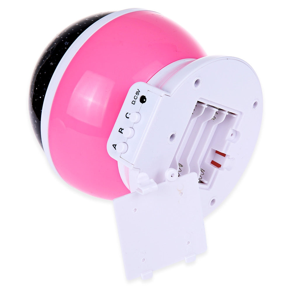3 Modes LED Rotating Projection Lamp