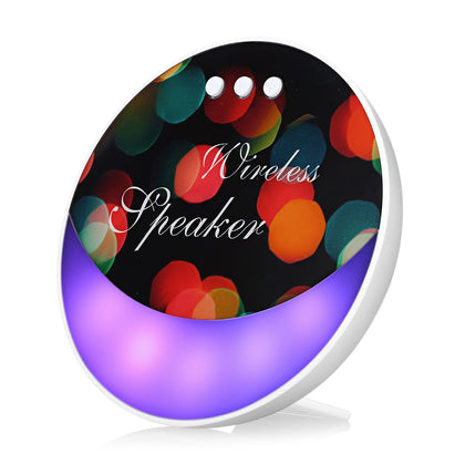 F6 Bluetooth Speaker Colorful Backlight