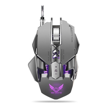 ZERODATE X300GY USB Wired Gaming Mouse with Adjustable DPI