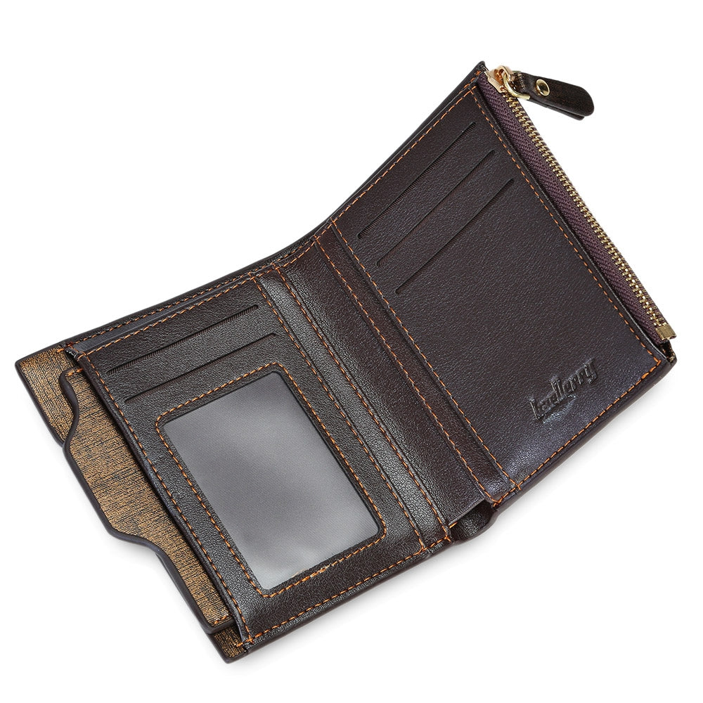 baellerry Business Wallet with Detachable Card Photo Holder