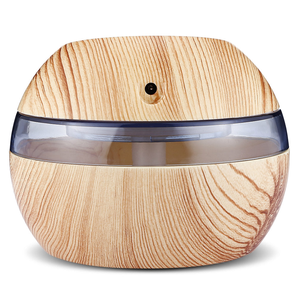 USB Essential Oil Diffuser Ultrasonic Humidifier with LED Light