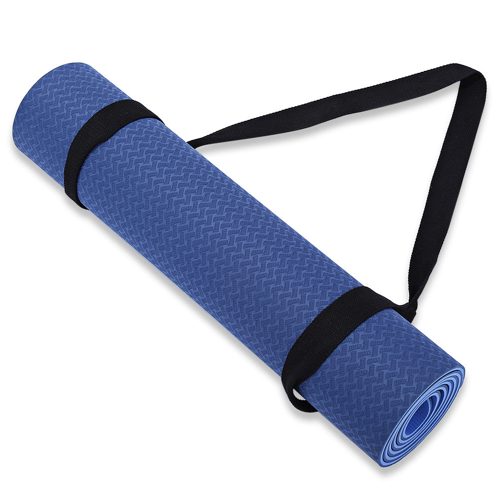 Adjustable Cotton Yoga Mat Carrying Belt Stretch Strap