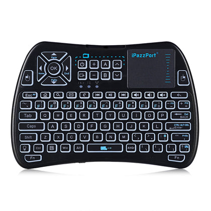 iPazzPort KP - 810 - 61 Mini Keyboard 2.4GHz with Touchpad