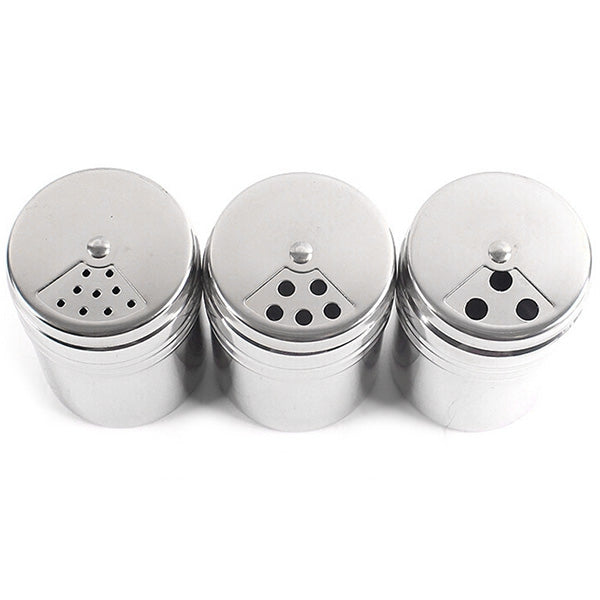 5PCS Outdoor Seasoning Tank Mouth Rotating Barbecue Sauce Bottle