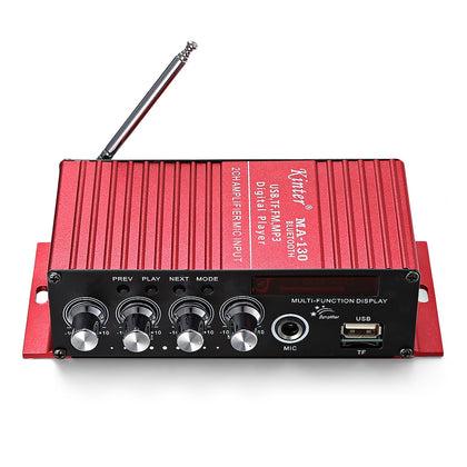 Kinter MA - 130 2CH Bluetooth Stereo Car Audio Digital Power Amplifier