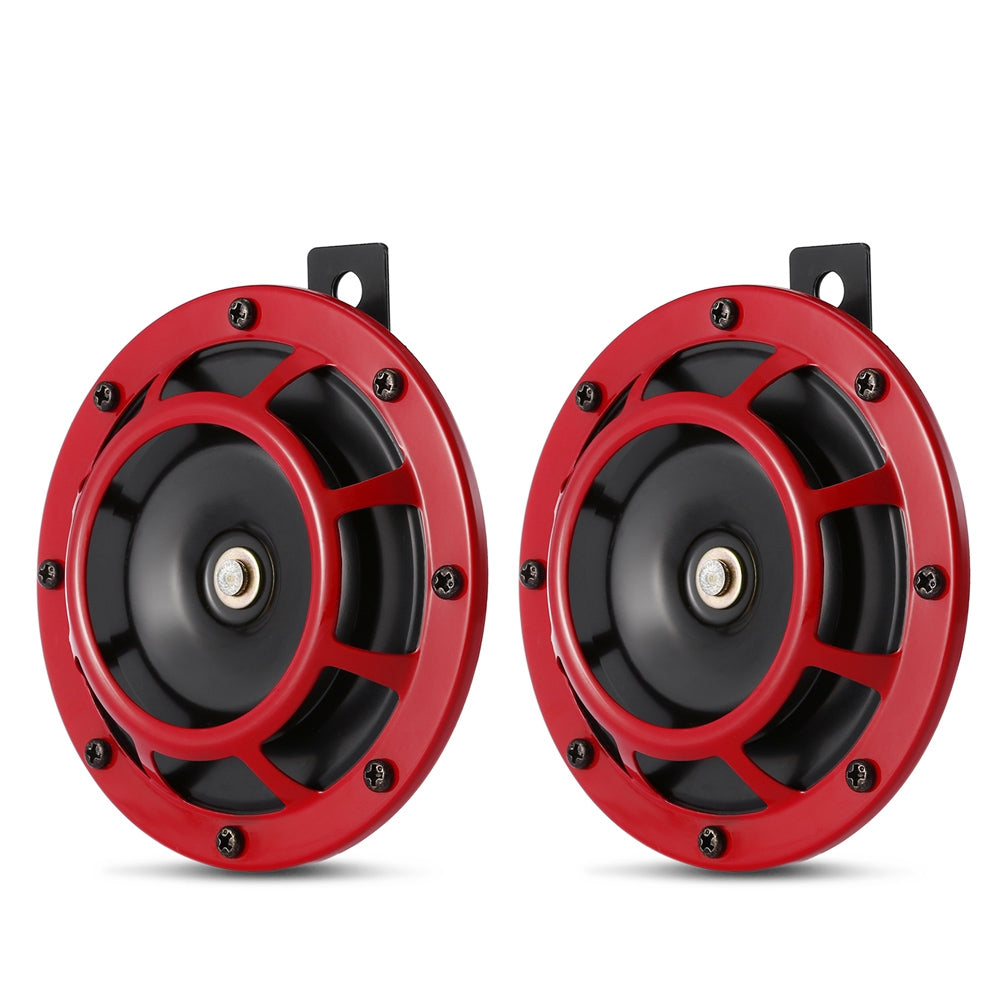 118dB Loud Round Horn Speaker 12 - 24V for Car Motorcycle 2pcs