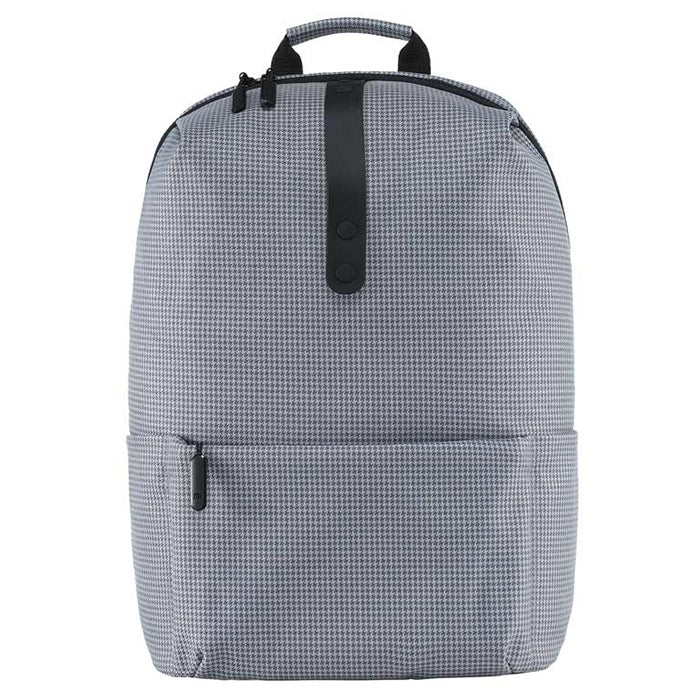 Xiaomi Trendy Plaid Water-resistant School Laptop Backpack
