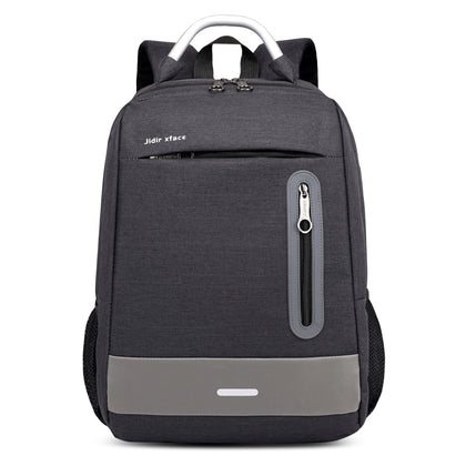 USB Charging Earphone Hole Laptop Backpack Canvas Large Capacity Men Travel Bag