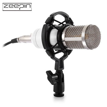 ZEEPIN BM - 800 Audio Sound Recording Condenser Microphone with Shock Mount