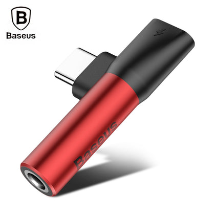 Baseus L41 Type-C Port + 3.5MM Audio Female Connector Mini Adapter