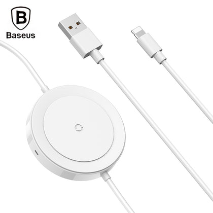 Baseus BSWC - P15 8 Pin Cable Wireless Charger 5W Data Transmission