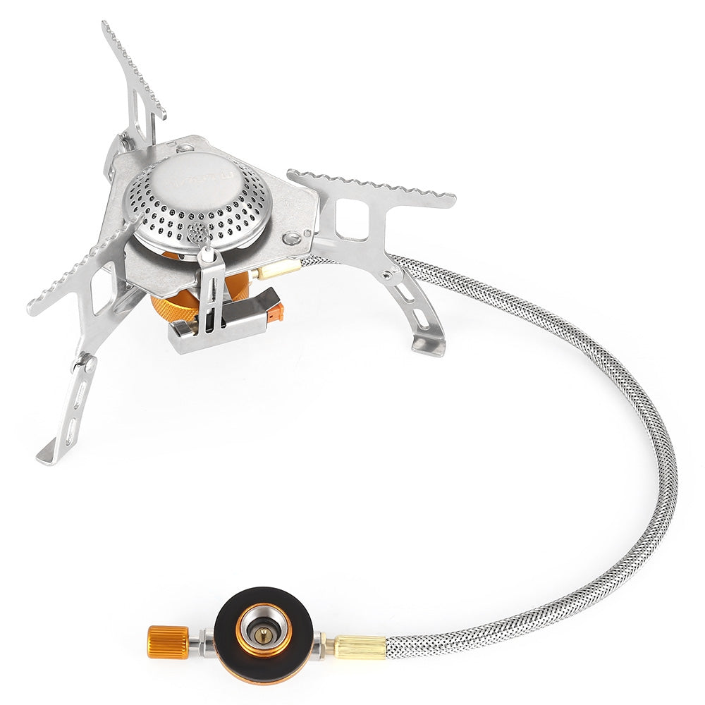 AOTU AT6303 Portable Foldable Liquid Fuel Cooker Split Stove Gas Burner