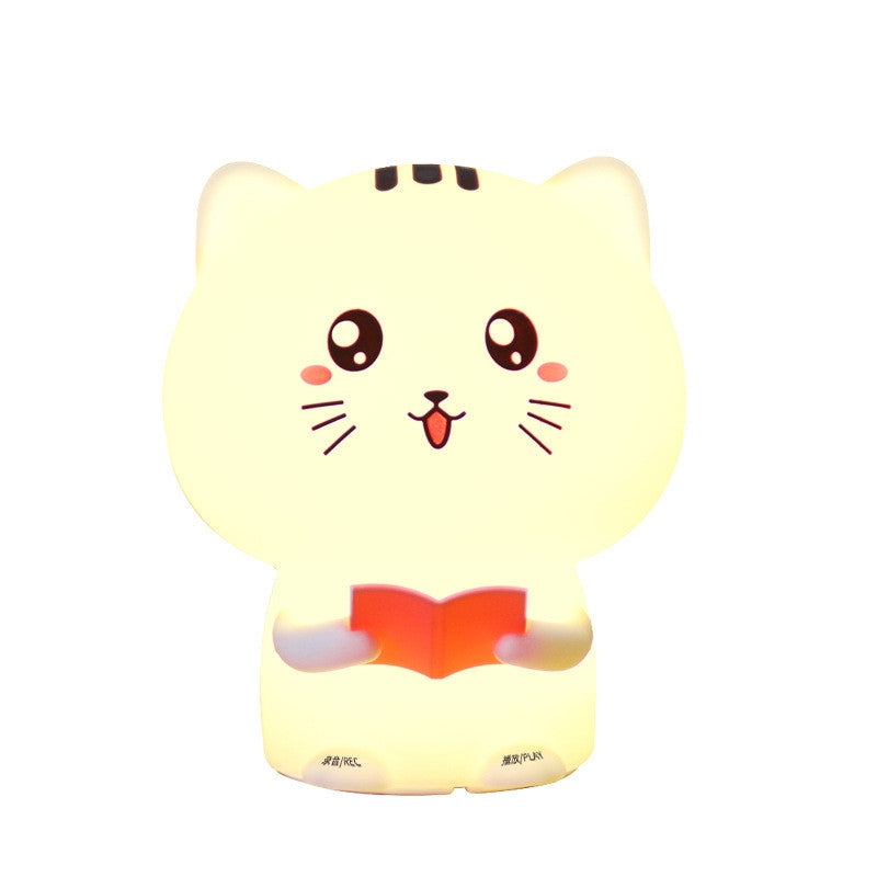 Cat Pats Silicone Night Light With Remote Control