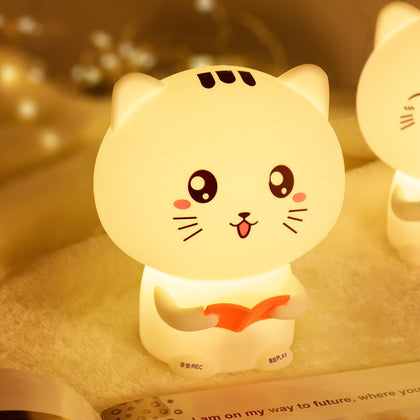 Cat Pats Silicone Night Light