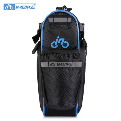 INBIKE SX510 Bicycle Saddle Bag Water Resistant Outdoor Mountain Bike Rear Back Seat Pouch