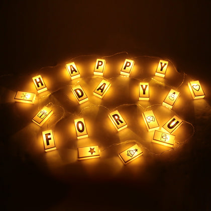 20 LED Letters Light Box String