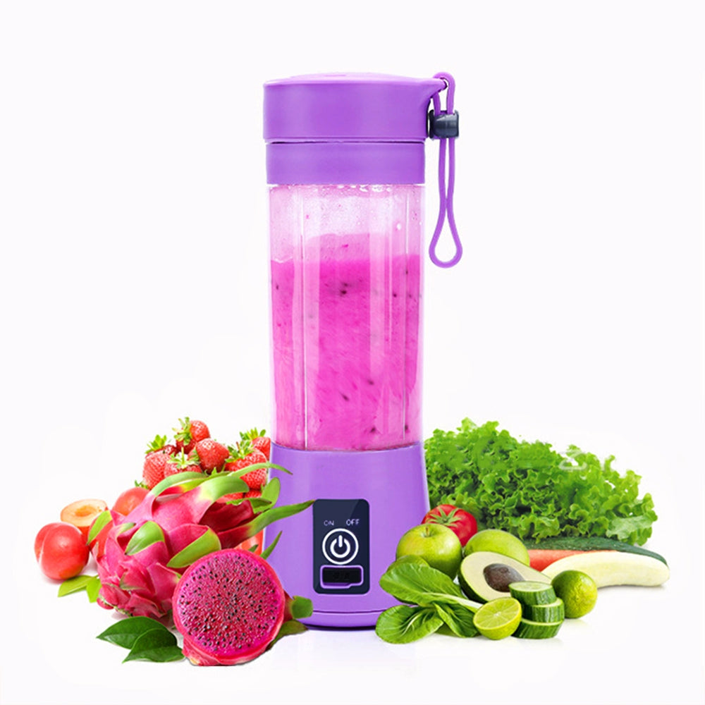 Portable Juicer Fruit Vegetable Juice Mixer