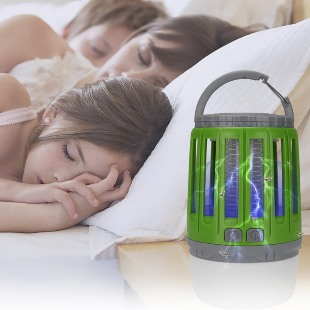 2-in-1 USB-plug Mosquito Lamp Camping Light