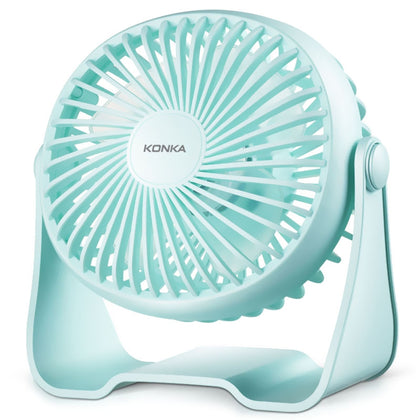 KONKA KF - 07U100 USB Silent Noise Reduction 360 Degrees Rotating Two-level Adjustment Fan